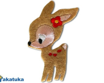 "patch ""deer"" various colors"