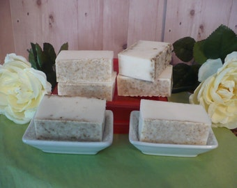 Pure Goats Milk and Oatmeal Soap