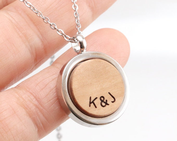 Wood Necklace, 5th Anniversary Gift, Wood Anniversary, Wooden Necklace, Oak Necklace, 5th wood anniversary,  Necklaces for Women