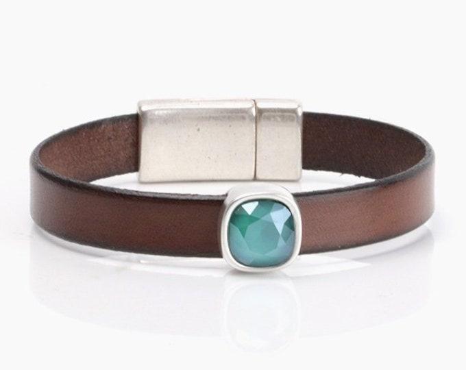 Swarovski Bracelet Women, Blue Swarovski Bracelet, Swarovski Crystal Bracelet, Rhinestone Jewelry, Swarovski Jewelry, Rhinestone Bracelet
