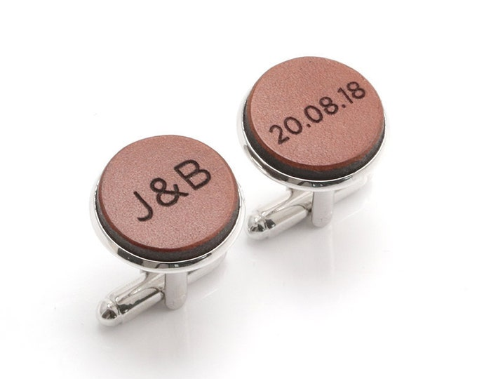 Anniversary Gift for Husband, Engraved Cufflinks, Personalized, Gifts for Husband, Birthday Gift for Husband, Wife to Husband Gift