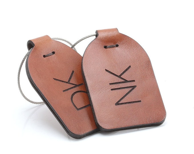 Luggage Tags Couple, Couples Gift, Couple Anniversary,  Luggage Tags Wedding,  Luggage Tags Leather, Luggage Tags Personalized, SET OF 2