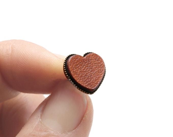 Heart Shape Studs, Heart Stud Earrings, Wholesale Studs,  Wholesale Leather Earrings, Wholesale Leather Stud, Wholesale Leather Jewelry
