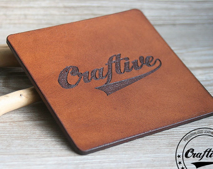 Your Company Logo,  Custom Logo Coasters, Personalized Business Logo, Corporate Gift, Company Gifts, Coworker Gift, Corporate Gift