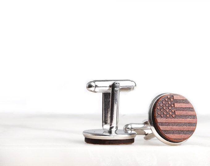 1 cufflinks with indian flag