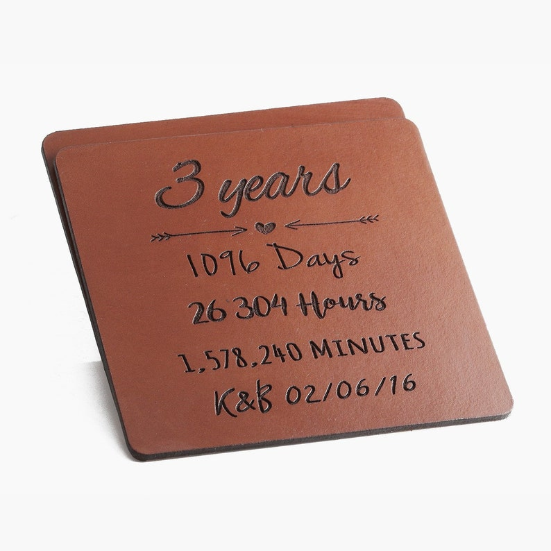 32a662cd932d 3rd anniversary gift leather 3 Year Anniversary Gift Leather