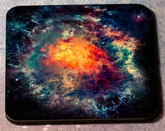 Psychedelic Burst Cosmic Coaster