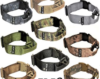 Handmade Personalized Custom Heavy Duty Strong Dog Collar Large strong dog collar