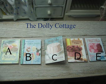 playscale 1/6 1:6 miniature cookbook barbie dollhouse baking fashion doll blythe