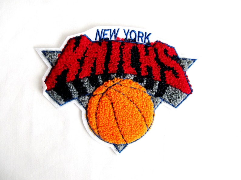 Basketball patchembroidered basketball appliquenew york etsy
