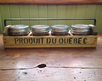 Case in Mason jars