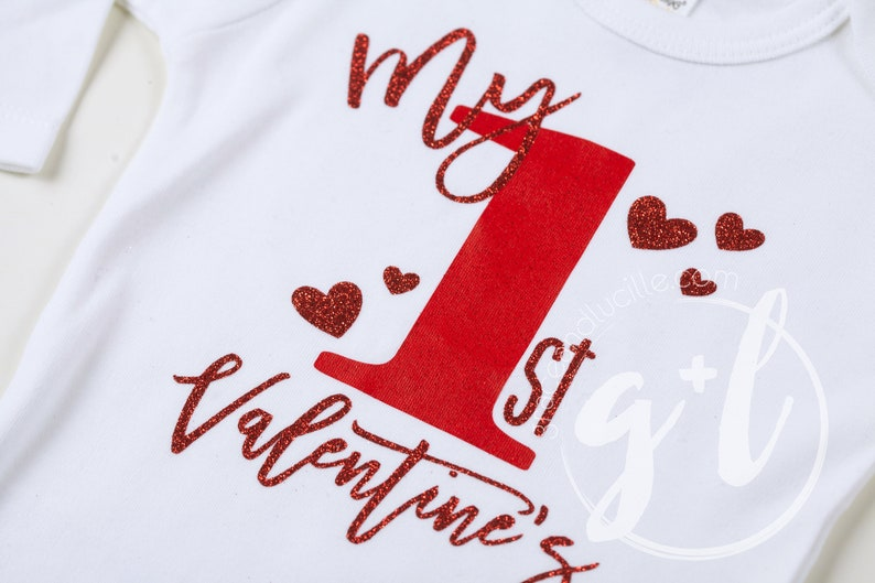 My first Valentines outfit for girls valentines outfit 1st Valentines outfit Girls valentines shirt red and white valentines outfit