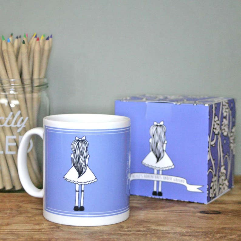 alice in wonderland quotes mug gift box coffee cup gifts