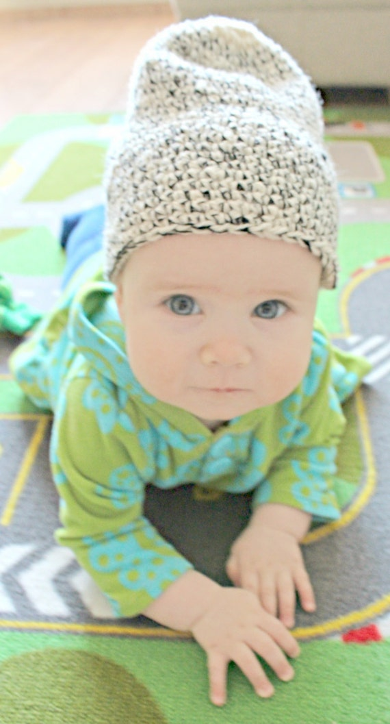 Biologique pour bébé Bonnet chapeau nouveau-né épais bébé   Etsy c1c41196b40