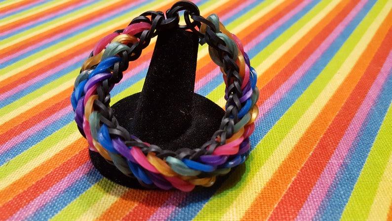 97310b2afc20 Rainbow Loom Tidal Wave Bracelet