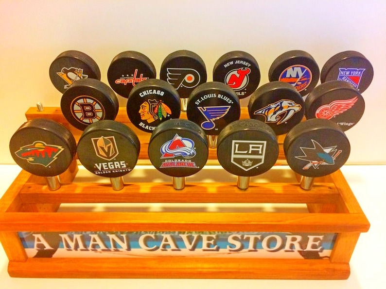 10c76c6b65b Hockey Puck Tap Handles-Father's Day Gift for Dad-Hockey | Etsy