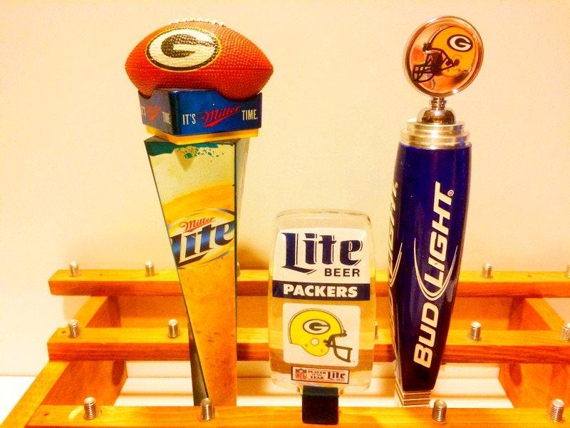 Green Bay Packers Tap Handles Bud Light Beer Taps Miller