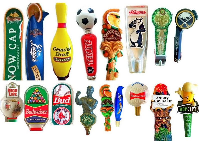 b25e1aed Beer Tap Handles for Sale - Craft Beer Tap Handles - Kegerator Tap-  Homebrew Beer Handle -Bar Tap - Microbrew Beer Gifts Bud Miller Coors
