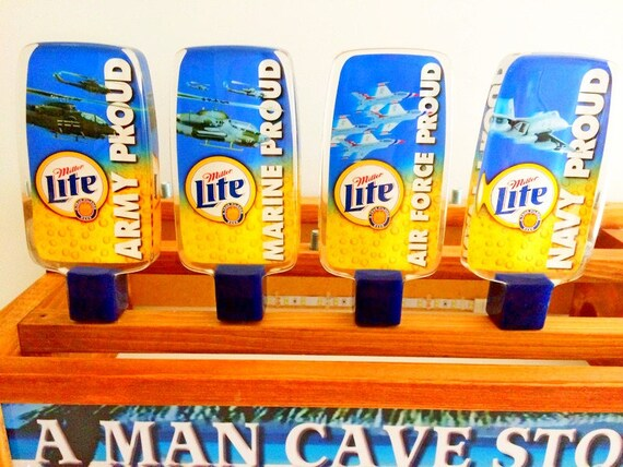new MILLER LITE CHRISTMAS HOLIDAY beer TAP HANDLE marker lights GIFTS SALE