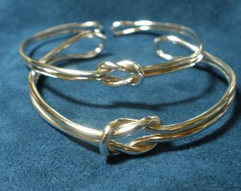 Sterling Silver Infinity Knot Bracelet