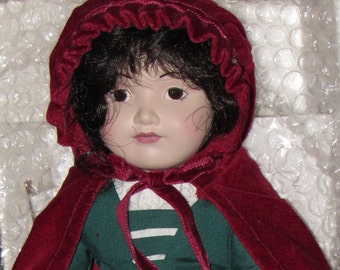 Little Red Riding Hood Franklin Mint Dolls *1984* Story Book and Nursery Rhyme Series