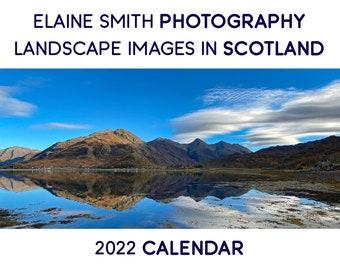 2022 Landscape Images in Scotland Wall Calendar