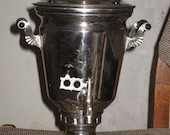 Vintage Samovar Urn Tea Antique Russian Soviet SAMOVAR 4L native electrical cable
