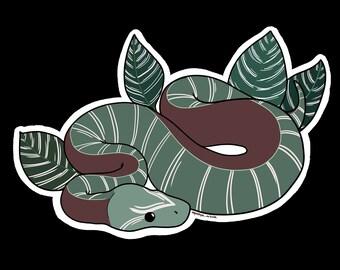 Custom AnimalxPlant Sticker