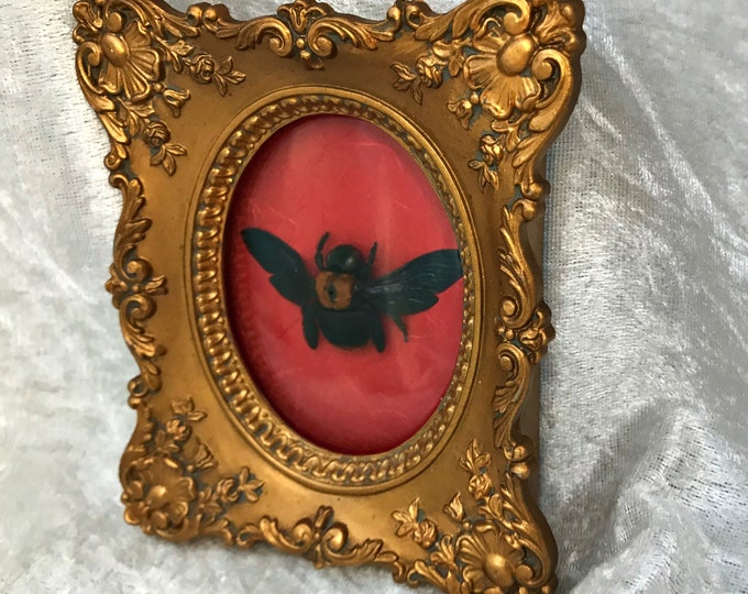 Carpenter Bee Antique Frame