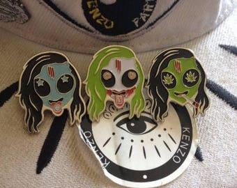 V1, V2, & V3 Skrillex Head series (REPRINT)