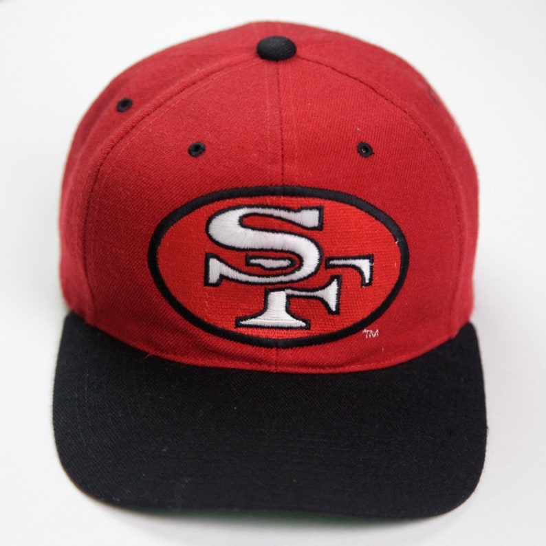 2a83e804 90s/00s Era Vintage Retro NFL San Francisco 49ers Football Team Snapback  Hat, Made in Indonesia, Youth/Kids/Children's Size