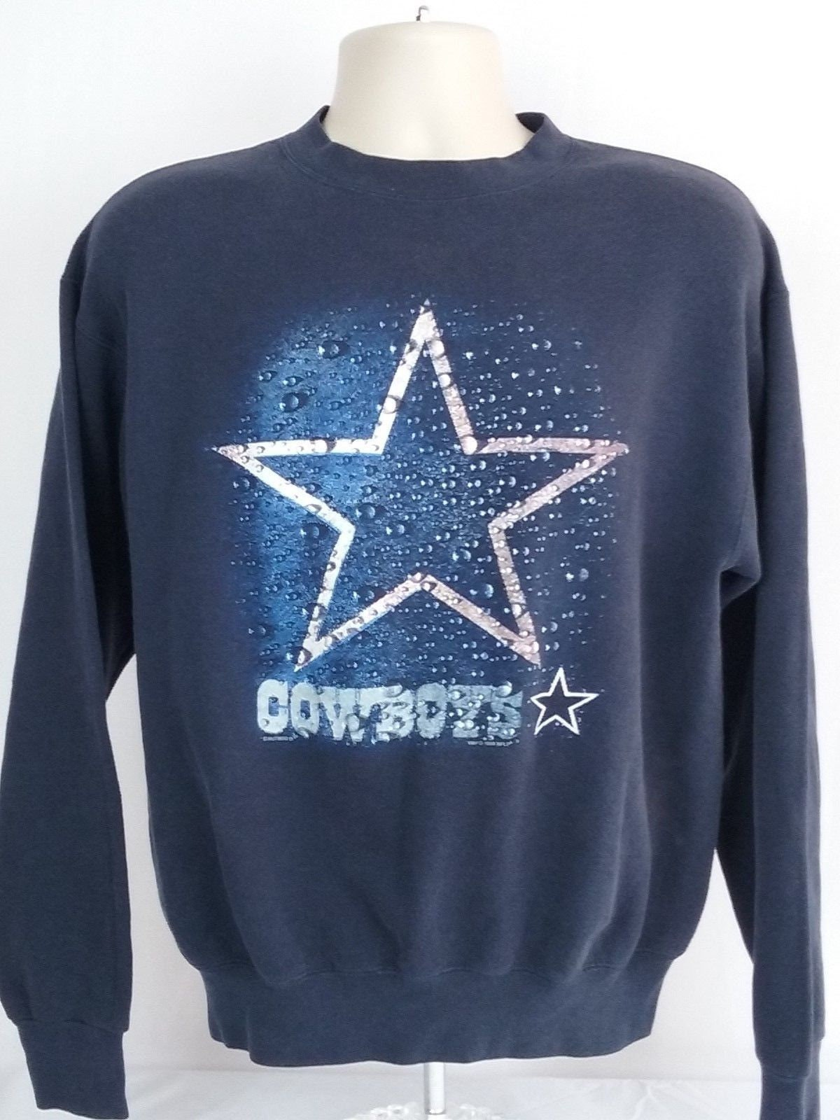 cc3c9d254 Lee Sport Dallas Cowboys XL Vintage Sweatshirt Blue Water Star | Etsy