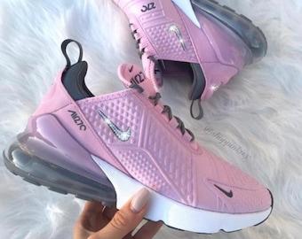 best loved dd3fb fbfe4 Swarovski Nike Air Max 270 Shoes Customized With Swarovski Nike Crystals