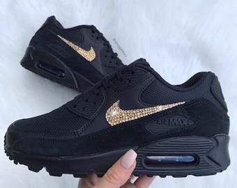 Nike air max schwarz glitzer