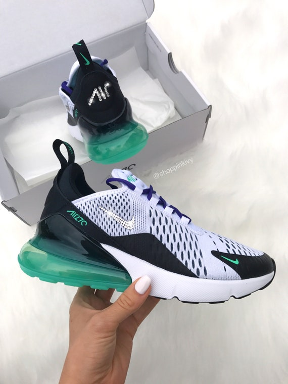 Swarovski Nike Air Max 270 Shoes Blinged Out With Swarovski  167a105bec