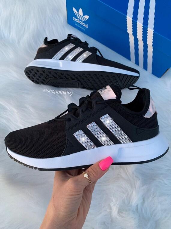 Iridescent Swarovski Adidas Originals XPLR Girls Womens Casual Shoes