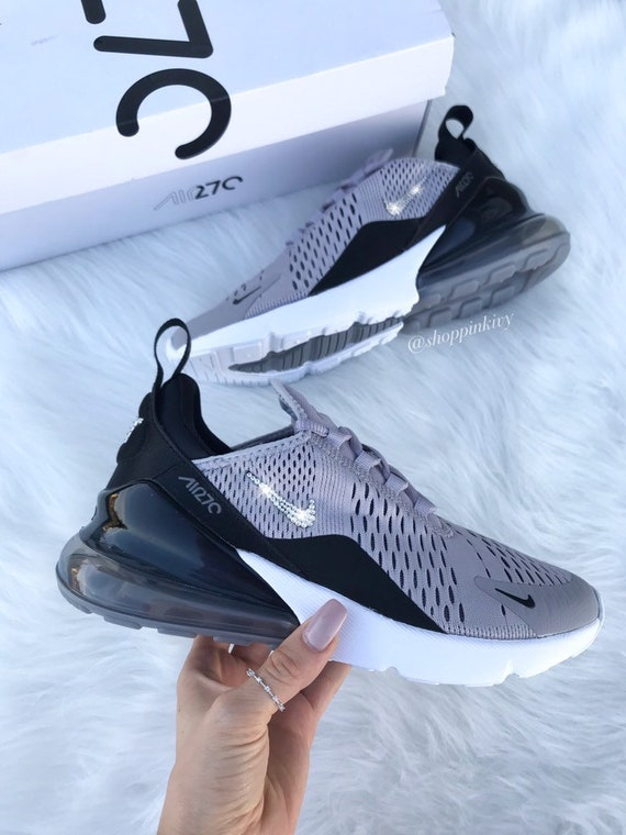 Swarovski Nike Air Max 270 Shoes Blinged Out With Swarovski  80090181a