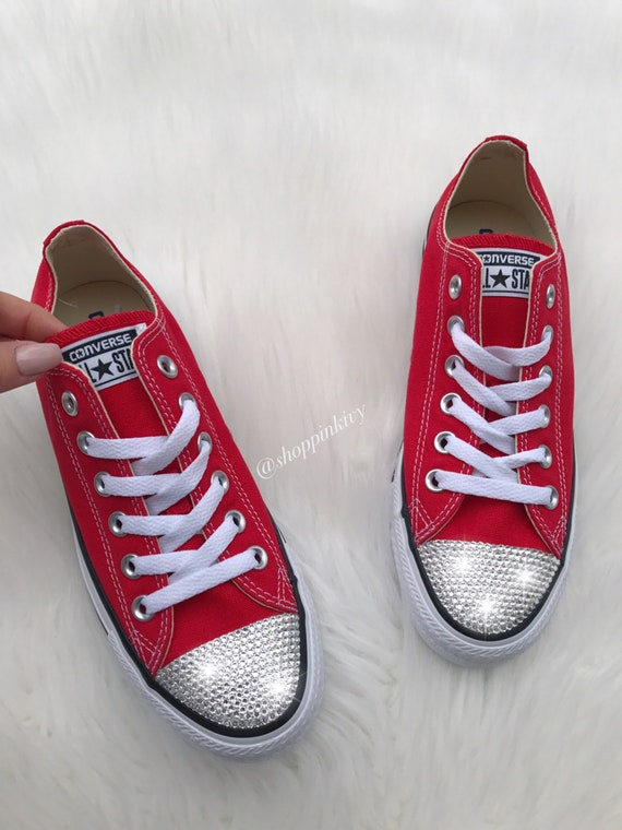 Women s Bling Converse Chuck Taylor Ox Casual Shoes  1271e9d94bc8