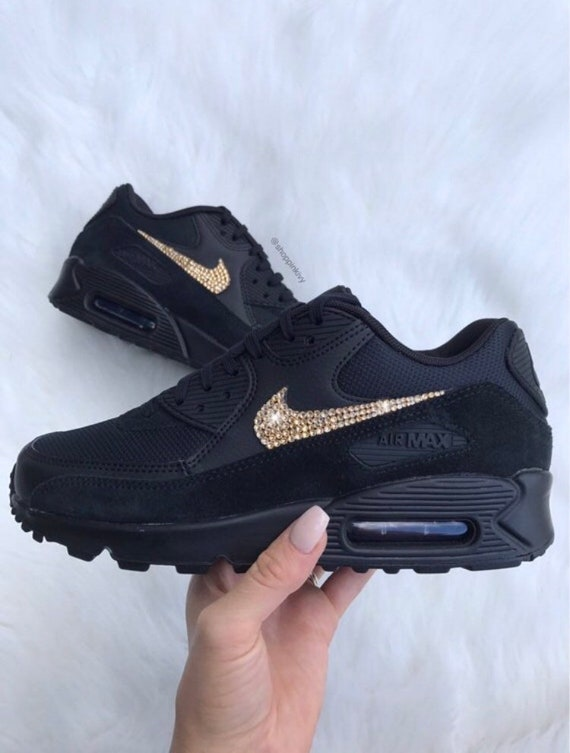 Swarovski Nike Air Max 90 Premium Shoes Blinged Out With  23ded2b8991e