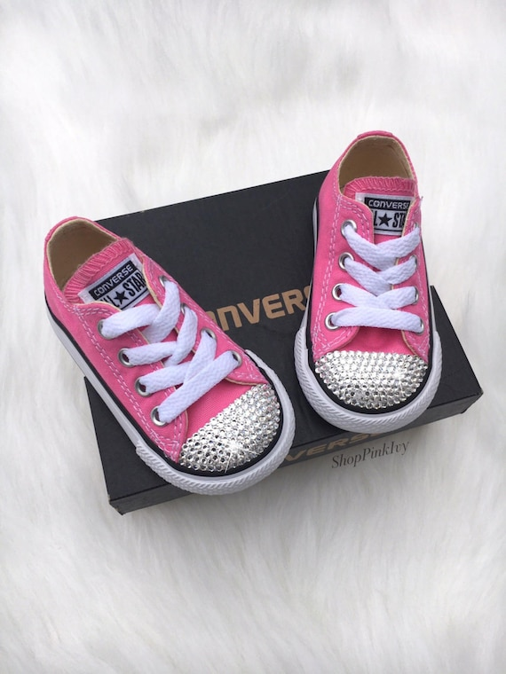 Baby Girls  Toddler Converse Chuck Taylor OX Casual Shoes  f2fad9705465