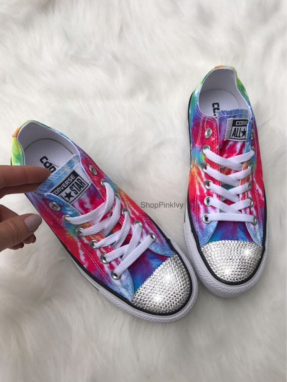 SIZE 6.5 Women s Bling Converse Chuck Taylor Ox Casual  ac196445bed9