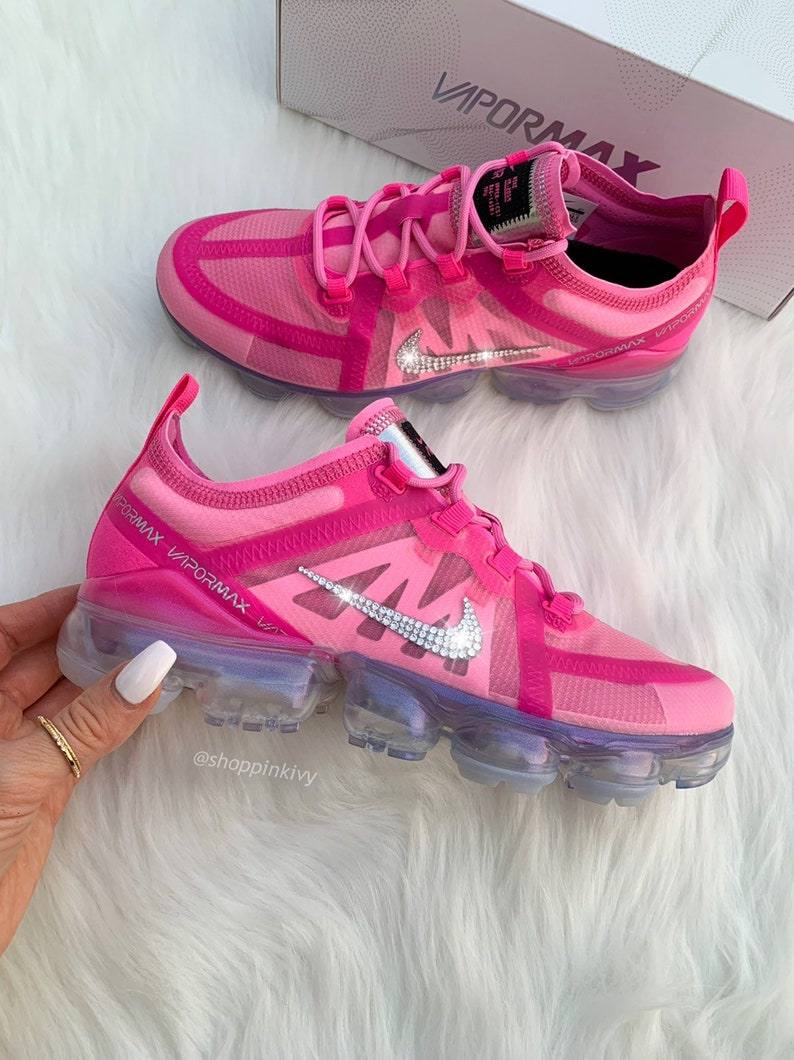 849083177246c Swarovski Nike Air Vapormax Shoes Blinged Out With Swarovski Crystals Bling  Nike Shoes