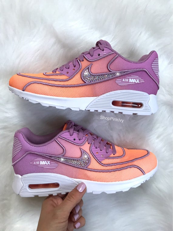 Swarovski Nike Air Max 90 Ultra Shoes Customized With AB  d6930fd32e