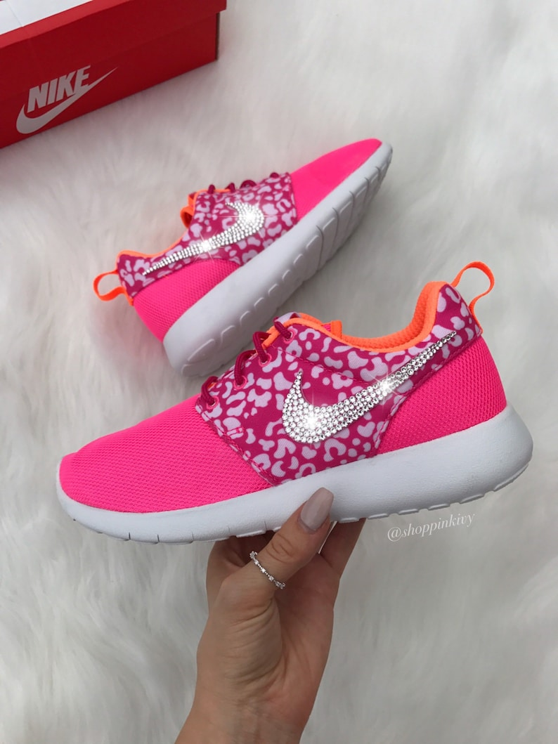 2edf34d1f362 Swarovski Nike Roshe One Shoes Customized With Swarovski Nike Crystals
