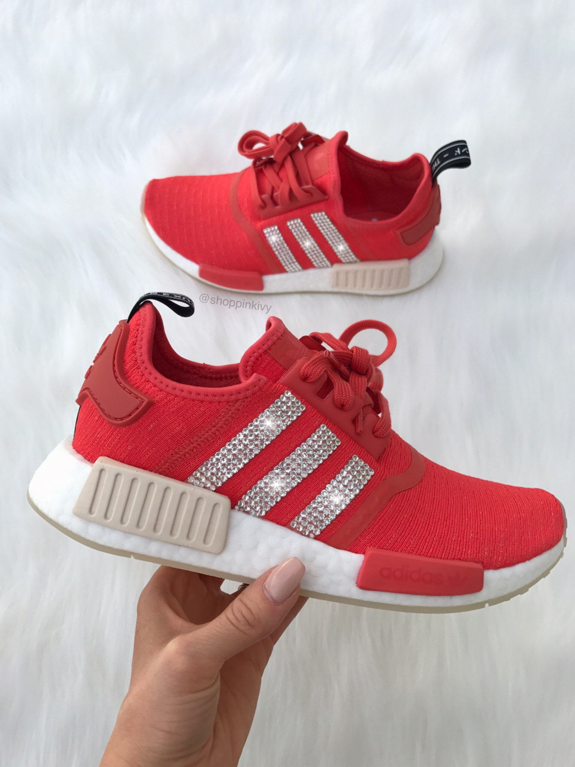 9d64b2ca0 Swarovski Adidas NMD Runner Casual Shoes