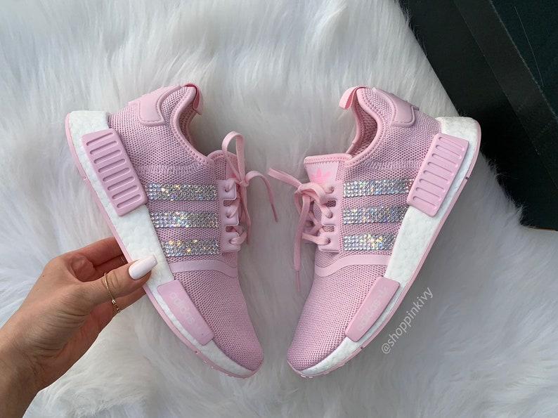 Schuhe Nike Swarovski Adidas Damen Nmd Kristallen Mit Mädchen DIW2EH9