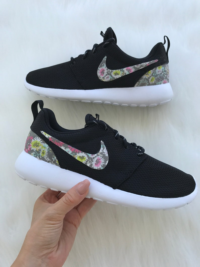 4946c8d6e6718 SIZE 6.5 Fabric Customized Nike Roshe One Shoes