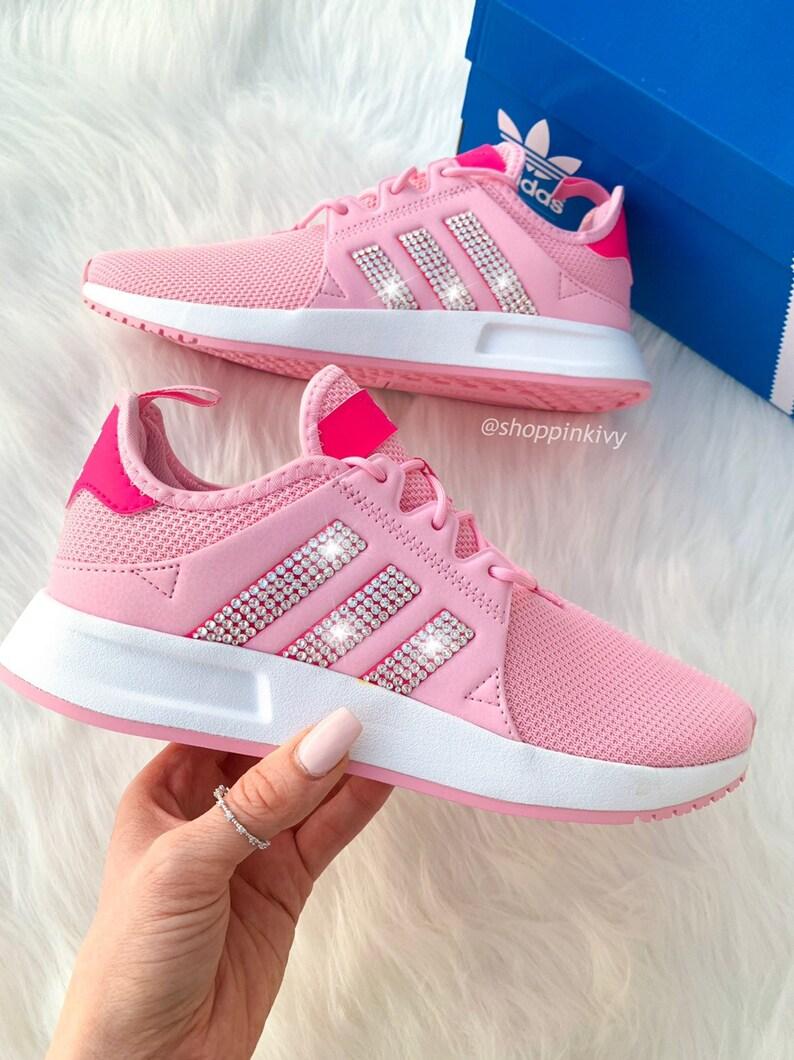 Rosa Swarovski Adidas Originals XPLR Womens Casual Schuhe