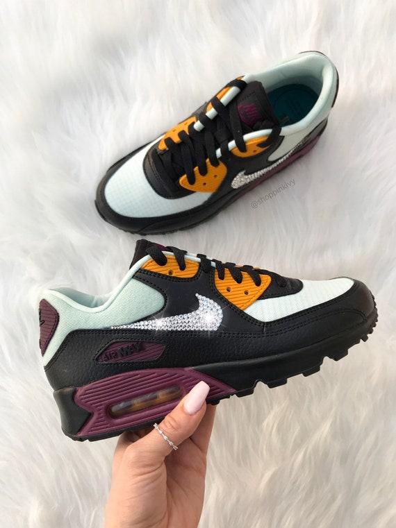 Womens Swarovski Nike Air Max 90 Premium Shoes with
