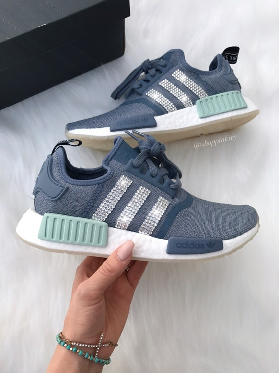 SIZE 7 Swarovski Adidas NMD Runner Casual Shoes  0f4a50cea